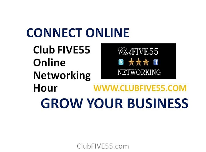 ONLINE BUSINESS NETWORKING -  WEDNESDAY AFTERNOON @ 1.00 PM image