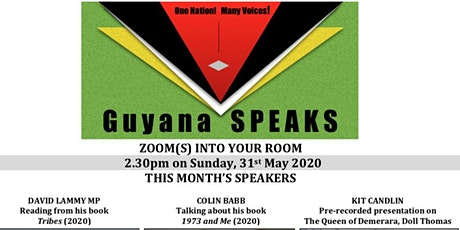 Guyana SPEAKS-(AUTO) BIOGRAPHICAL READINGS tickets