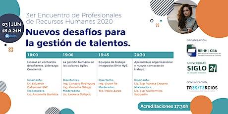 3er Encuentro de profesionales de Recursos Humanos 2020 entradas