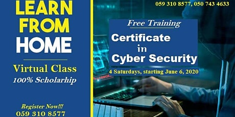 Certificate in Cyber Security tickets