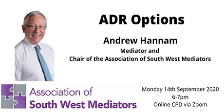 ASWM Online CPD: ADR Options tickets