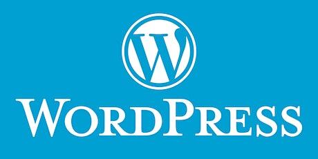 WordPress Training tickets