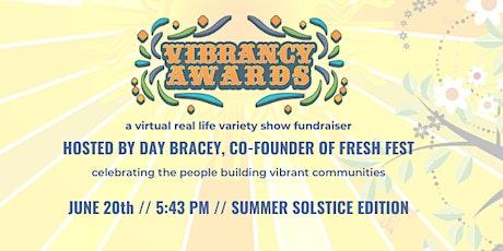 2020 Vibrancy Awards from New Sun Rising tickets