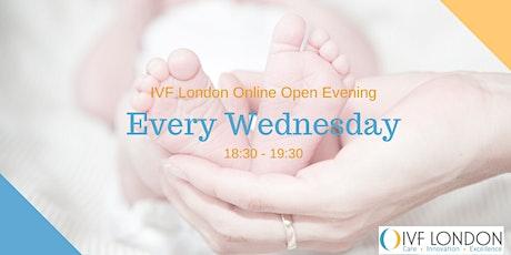 IVF London Online Open Evening tickets