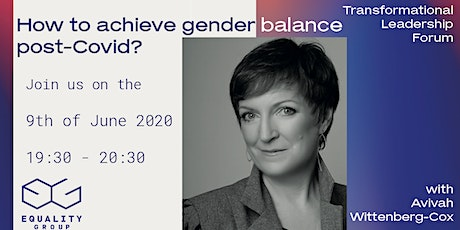 How to achieve gender balance post-Covid? tickets