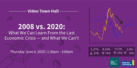 2008 vs. 2020: What We Can Learn From The Last Crisis -- And What We Can't tickets