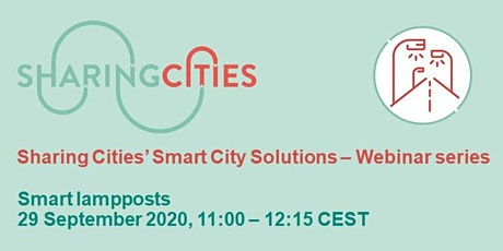 Sharing Cities' Smart City Solutions – Webinar Series: Smart lampposts tickets