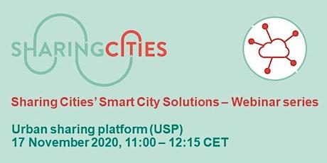 Sharing Cities' Smart City Solutions – Webinar Series: USP biglietti