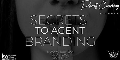 Secrets to Agent Branding tickets