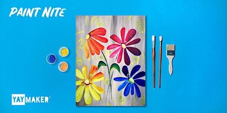 Virtual: Family Paint Party billets