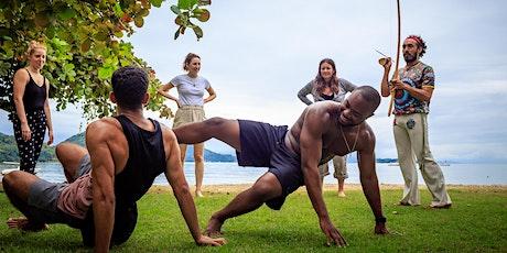 WORLD DEBUT: Clase Online de Historia y Taller de Capoeira entradas