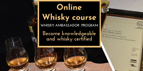 Whiskey - Want to Become Knowledgeable & certified? Live One-Line course tickets