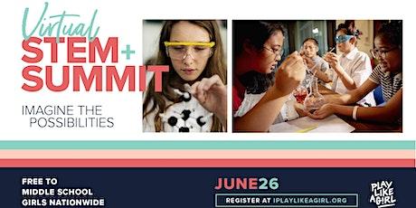 Play Like a Girl Virtual #GirlsRockSTEM Summit tickets