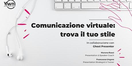 Comunicazione virtuale: trova il tuo stile biglietti