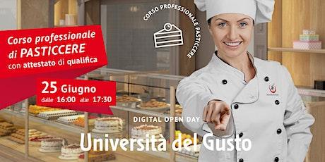 Open day Corso professionale di pasticcere biglietti