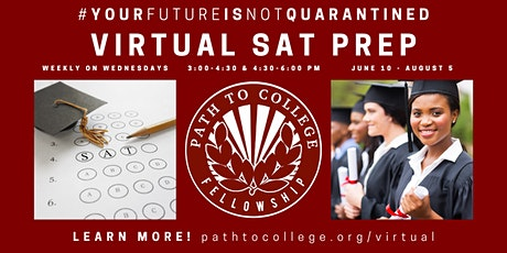 Free Virtual SAT Prep with Path to College tickets