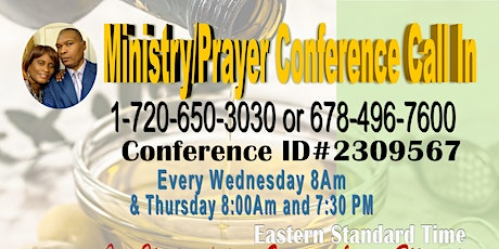 Prayer/Ministry Conference tickets