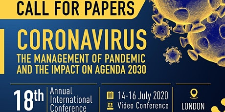 CORONAVIRUS: the management of pandemic and the impact on Agenda 2030 tickets