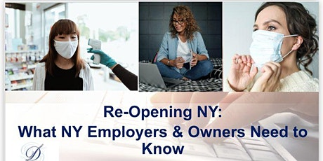 NYC Re-Opening -  Employer & Owner Legal Requirements tickets