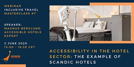 Accessibility in the hotel sector: the example of Scandic Hotels tickets