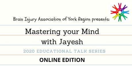 Mastering your Mind with Jayesh - BIAYR Online Workshop Series tickets