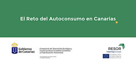 El Reto del Autoconsumo en Canarias entradas