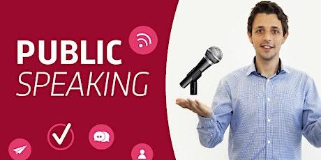OFFERTA LAMPO: Lezione di Public Speaking  privata con me scontata del 50% biglietti