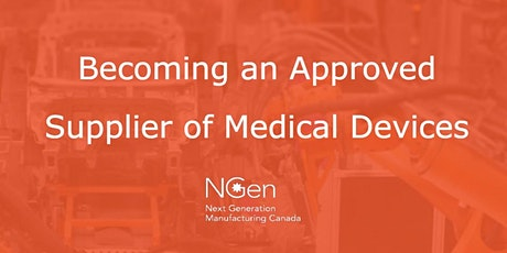 Becoming an Approved Supplier of Medical Devices ISO 9001 to ISO 13485 tickets