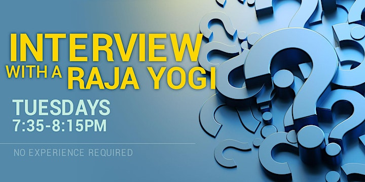 Interview with a Raja Yogi in English (Online) image