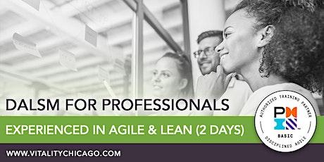 DALSM for Professionals Experienced in Agile (Scrum) & Lean (2-Days) boletos