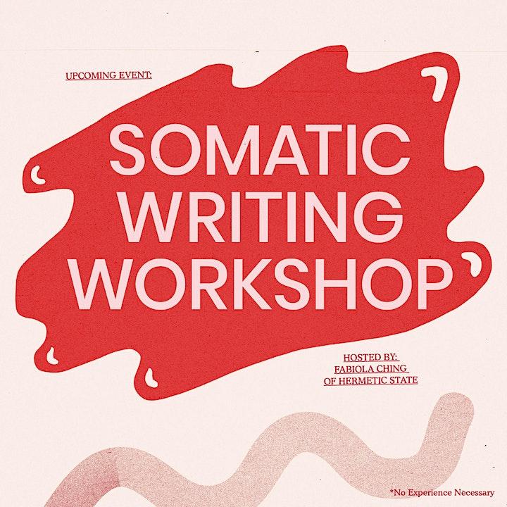 Somatic Writing Workshop with Fabiola Ching image