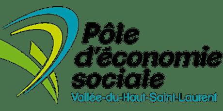 AGA Pôle d'économie sociale Vallée-du-Haut-Saint-Laurent billets