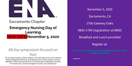 ENA Sacramento Day of Learning tickets