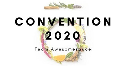 Team Awesomesauce Convention 2020 tickets