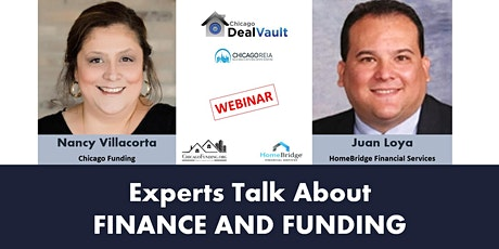 WEBINAR: Experts Talk About Finance and Funding tickets
