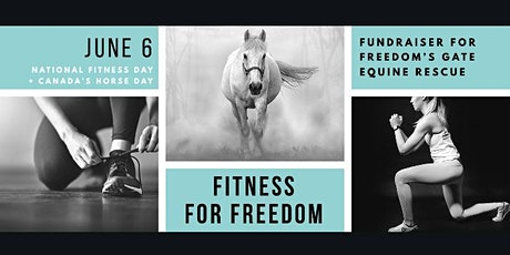 Fitness for Freedom fundraiser for horse rescue - EQUI•FITness online tickets