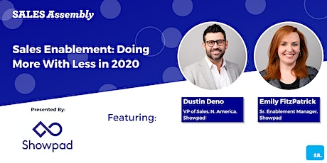 Sales Enablement: Doing More With Less in 2020 tickets