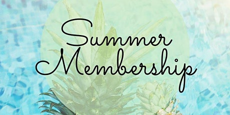 Summer Cooking Classes: Membership tickets