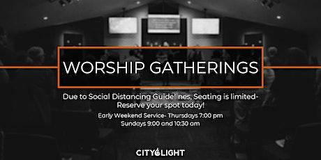 City Light Worship Gatherings 6/1-6/7 tickets