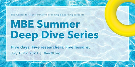 MBE Summer Deep Dive Series tickets