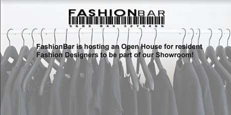 FashionBar's Showroom - Exclusive OPEN HOUSE tickets