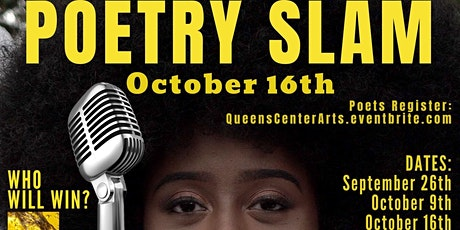 POETRY SLAM  - Live Online - Audience- Chat With The Judges tickets