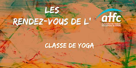 Classe de Yoga avec Philippe Van Martin biglietti