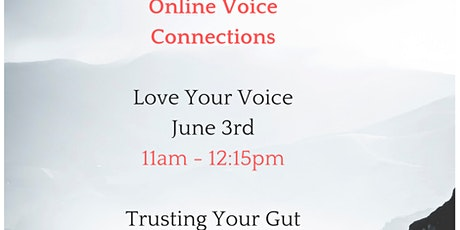 Voice Connections - Trust Your Gut tickets