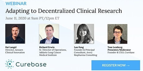Adapting to Decentralized Clinical Research: Actionable Lessons from Real Practitioners tickets