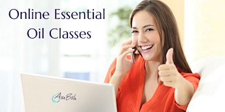 Online Essential Oils 101 Class tickets