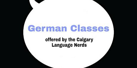 Free German Classes Online ll Calgary Language Nerds entradas