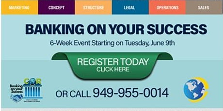 CORCDC's Banking on Your Success Class I - Online tickets