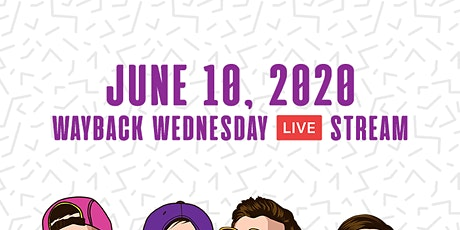 '90s Wayback Wednesday Live Stream with ZOODUST! tickets