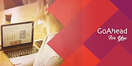 Curso de Finanças para Não Financeiros - Webinar bilhetes